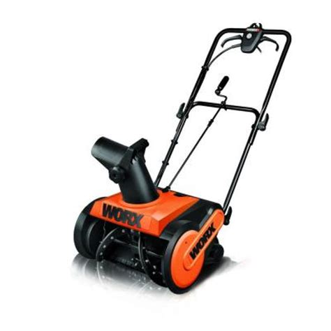 worx 18 in electric snow blower discontinued wg650 the