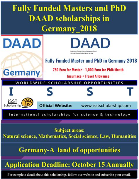 Recommendation Letter Daad doctoral programmes in germany daad scholarships 2017