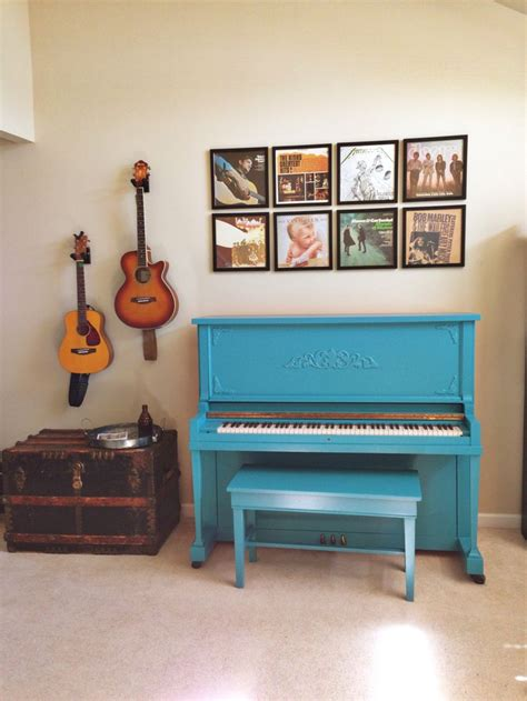 piano ls home depot diy piano makeover turquoise painted piano with framed