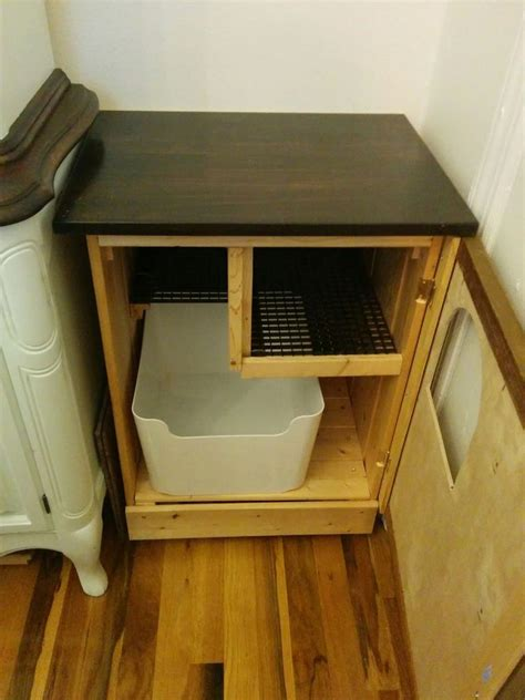 clever ways  hide  litter box