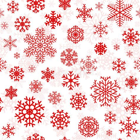 white xmas pattern christmas seamless pattern from snowflakes stock vector