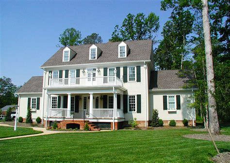 colonial homes colonial home with 2 story family room 32562wp