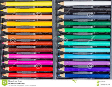 Coloring Pencil Set coloring pencil set stock image image of pencil crayon