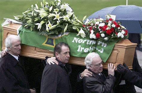 george best funeral in memory of george best league spotlight