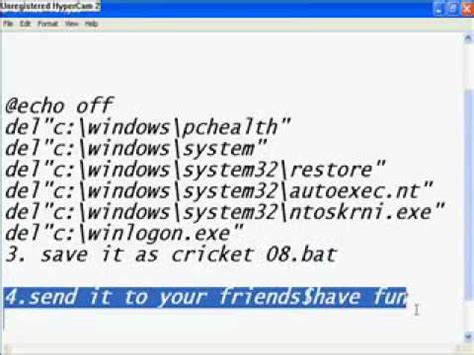 membuat virus hacker hack billing warnet funnydog tv