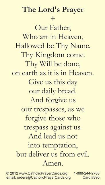 Catholic Prayer Cards St Therese Of Lisieux St Joseph
