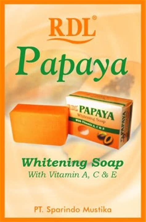 Sabun Rdl Papaya anislolis putihkan kulit muka dengan