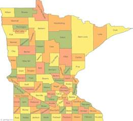 Mn State Map by Map Of Minnesota