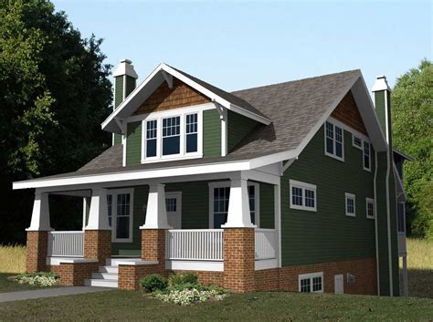 style home designs small craftsman style home plans with green wall paint