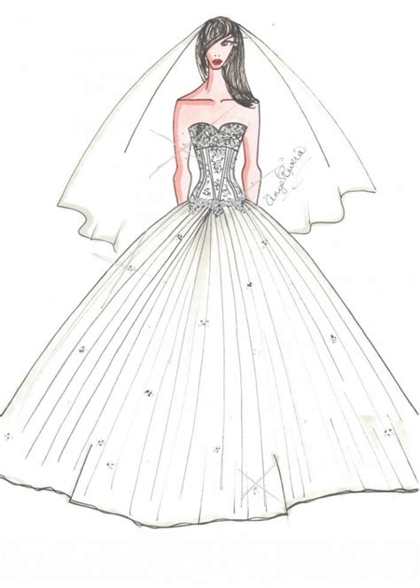 wedding dresses drawings drawings of dresses how to draw a wedding dress
