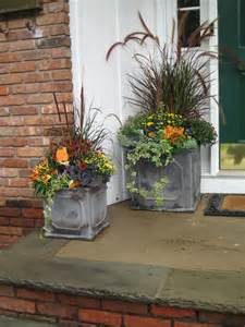 fabulous fall containers the garden glove