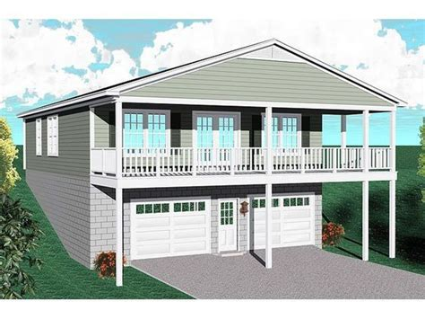 plan 14631rk 3 car garage apartment with class garage apartments car garage and apartments 20 best garage plans for a sloping lot images on pinterest