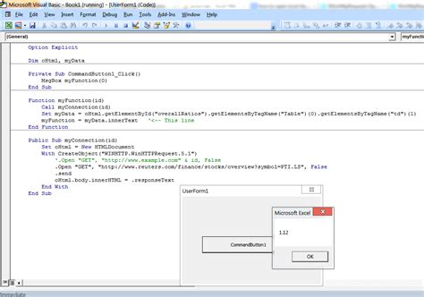 inner function javascript javascript excel vba get inner text of html table td