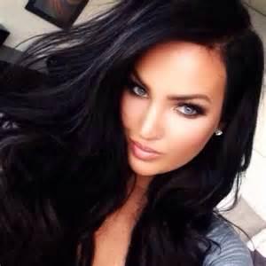 jet black hair black hair blue eyes and jets on pinterest