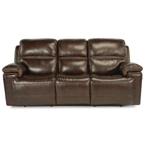 reclining sofa with usb port flexsteel latitudes fenwick 1659 62ph power reclining sofa