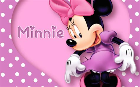 wallpaper pink disney minnie mouse wallpapers pictures images