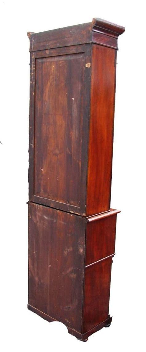 Narrow Mahogany Bookcase Antique Regency Narrow Mahogany Bookcase 87364 Sellingantiques Co Uk
