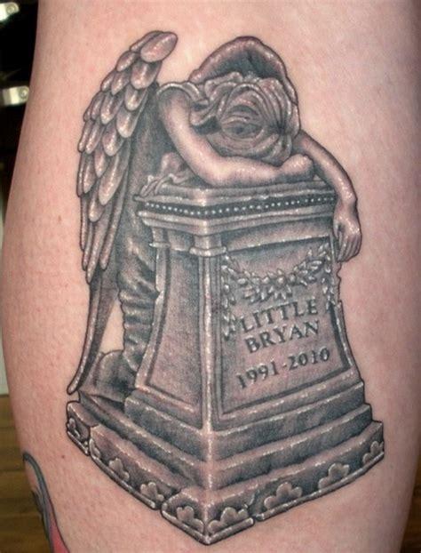 rip brian tattoo tombstone rip brian