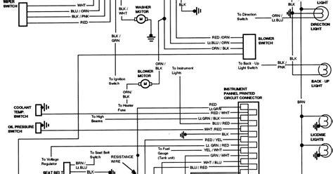similar diagrams instrument panel wiring best free