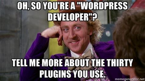 User Memes - wordpress users beware 19 disadvantages of using