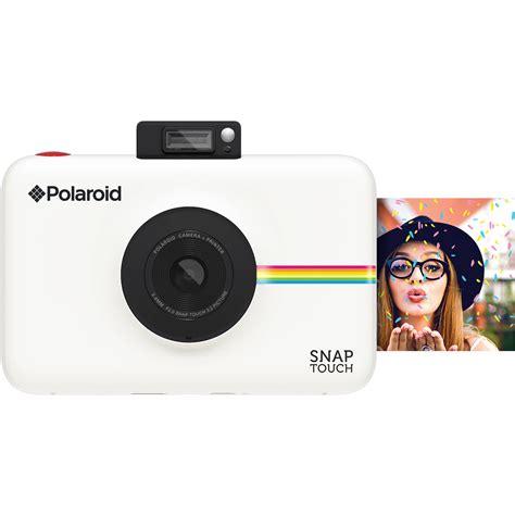 polaroid white polaroid snap touch instant digital white polstw b h