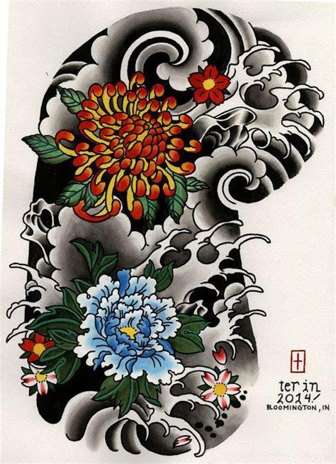 japanese flower tattoo design japanese flower hľadať googlom japan