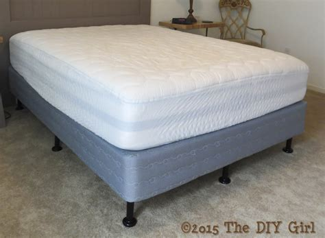 Bed Legs Alternative To Bed Frame The Diy Girl Bed Frame Alternatives