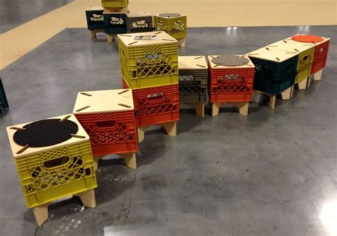 design with milk crates the milk crate gets a makeover by combo colab treehugger