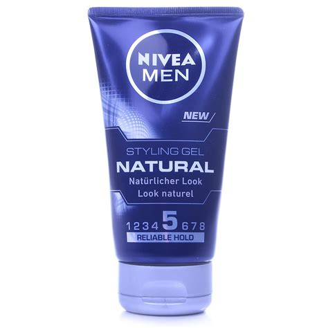 Styling Gel On Natural Hair | nivea men natural styling gel