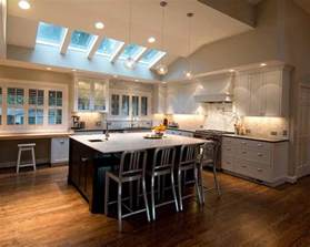 kitchen with vaulted ceilings ideas marvellous kitchen lighting brighten up the entire kitchen