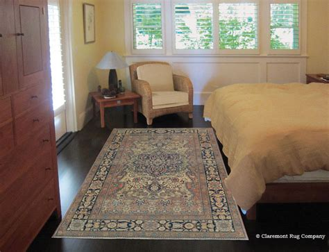persian rug bedroom an early motasham kashan brings timeless art to a