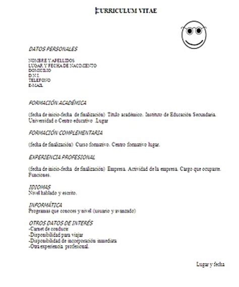 Plantillas De Curriculum Vitae Normal 10 Plantillas De Curriculum Viate Para Word 10puntos