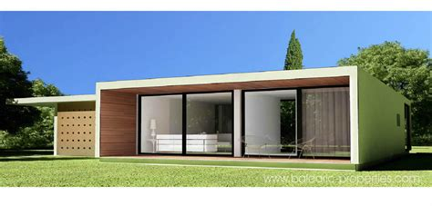 Two Story Mobile Home Floor Plans by Concrete Modular Villas In Mallorca A New Concept For