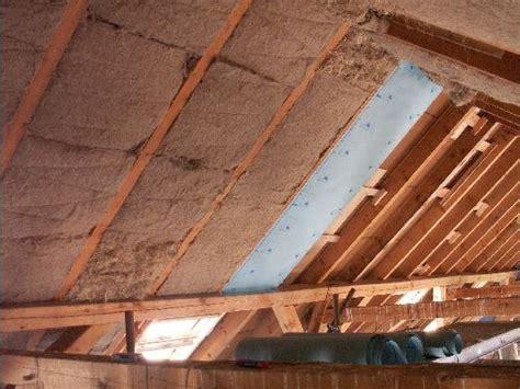 haus richtig dämmen dach d 228 mmen innen flachs oder glaswolle das dach