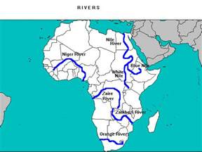 africa map rivers lakes mountains ancient africa page