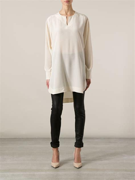 Blouse Ratu Tunic Tunik white tunic blouse fashion ql