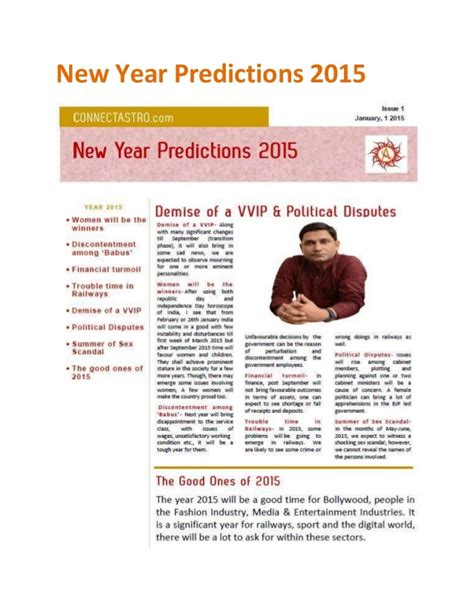 new year predictions 2015 new year predictions 2015 by connect astro