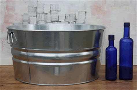 Bathtub Gallons by Galvanized Tub Event Supplies Home Display Decor