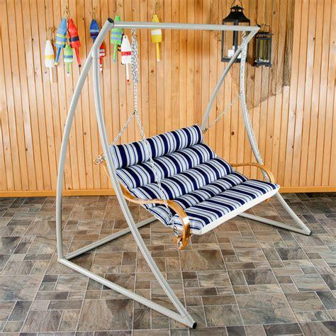 hatteras swings metal double swing stand hatteras hammocks sku swsc2t