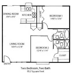 two bedroom house floor plans tiny house single floor plans 2 bedrooms bedroom house