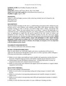 Cover Letter For Education Support Worker Sales Support Description Resume Adjectives And Adverbs For Resumes No Experience Resume