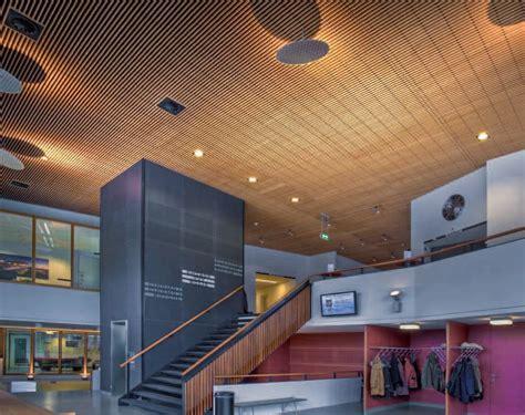 enrejado para techos panel para falso techo de madera enrejado linear grid