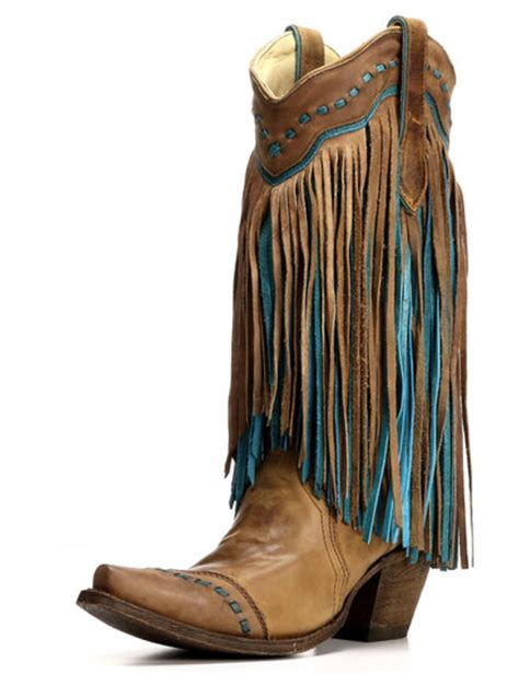 3 pairs of corral fringe boots you need horses heels