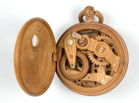 Neat Clocks by Really Cool Wooden Gadgets From Russia Treehugger