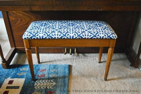 reupholster piano bench tutorial how to reupholster a bench with rounded corners