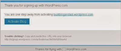 blogger dan wordpress cara membuat blog cepat mudah blogger dan wordpress