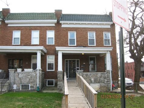 4 bedroom houses for rent in baltimore 2435 w lafayette ave 2 baltimore md 21216 2 bedroom