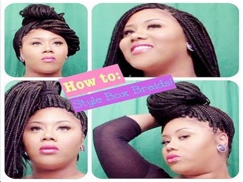 braid styles to hide thin edges how to style box braids for thinning edges temples