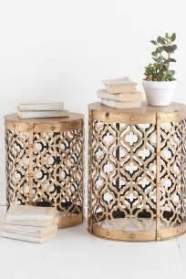 hautelook home decor rudebekia side table set of 2 by mercana on hautelook