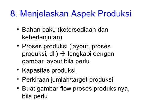 jelaskan layout fasilitas produksi menyusun proposal usaha 2011 tanpa gambar